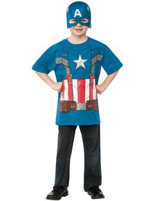 Kit disfraz del Capitán América Vengador Capitán América: el Soldado de Invierno para niño