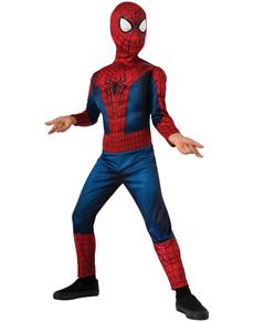 Disfraz The Amazing Spiderman 2 deluxe movie para niño