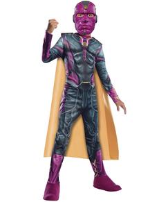 Disfraz de Vision Los Vengadores la Era de Ultrón para niño