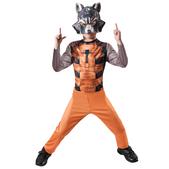 Disfraz de Rocket Racoon Guardianes de la Galaxia classic para niño