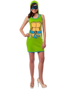 Vestido de Leonardo Las Tortugas Ninja para mujer