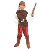 Disfraz de pirata elegante para niño