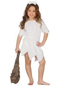 Disfraz de cavernícola guapa para niña