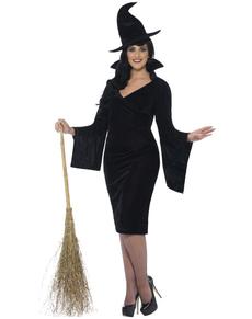 Disfraz de bruja encantadora para mujer talla grande