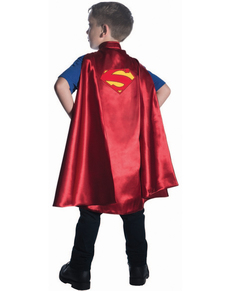 Capa de Superman DC Comics deluxe para niño