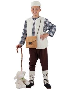 Disfraz de pastor tradicional para niño