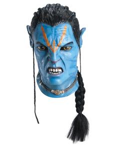 Máscara de Jake Sully Avatar para adulto.