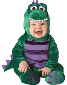 Disfraz de dinosaurio amoroso para bebé