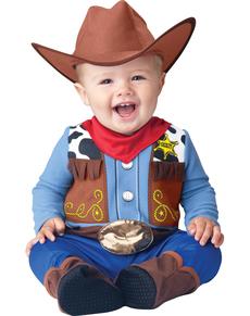 Disfraz de sheriff del lejano oeste para bebé