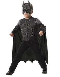Kit disfraz de Batman TDK musculoso para niño