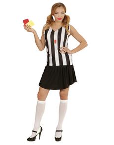 Disfraz de árbitro para mujer