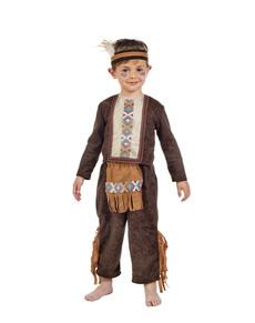 Disfraz de indio divertido para niño