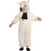 Disfraz de ovejita para niña y bebé
