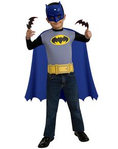 Kit disfraz de Batman The Brave and the Bold para niño