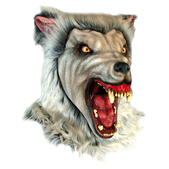 Máscara Snow Wolf Halloween