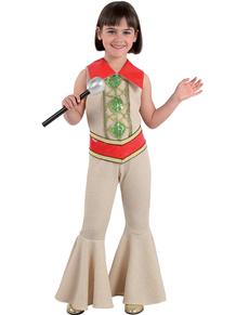 Disfraz de cantante ABBA para niña