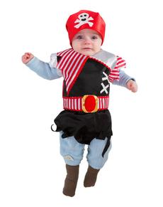 Babero pirata para bebé