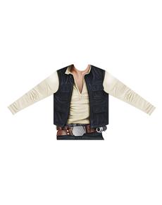 Camiseta hiperrealista de Han Solo para adulto
