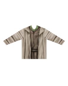 Camiseta hiperrealista de Yoda para adulto