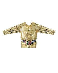 Camiseta hiperrealista de C3PO para adulto