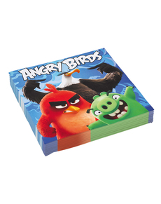 Set de 20 servilletas Angry Birds
