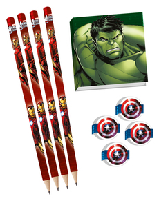 Set de dibujo Los Vengadores Power