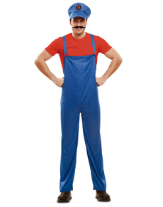 Disfraz de fontanero salvador para hombre