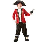 Disfraz de Capitán Garfio niño