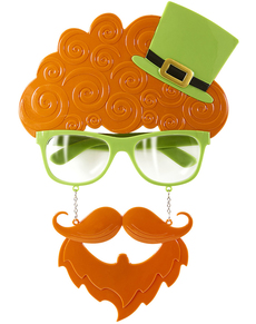 Kit de gafas de San Patricio para adulto