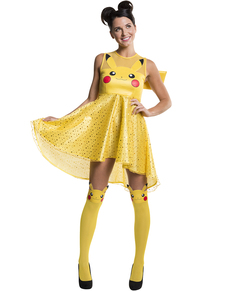 Disfraz de Pikachu para mujer