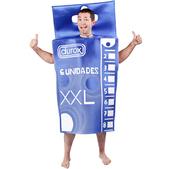 Déguisement de boîte de préservatifs