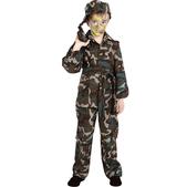 Disfraz de camuflaje para niño