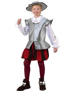 Disfraz de caballero Don Quijote para niño