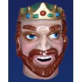 Cabezudo infantil rey rubio