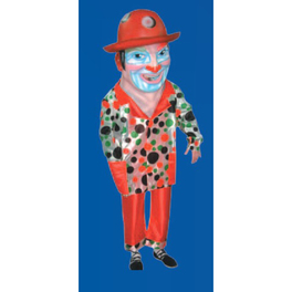 Cabezudo adulto clown