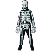 Disfraz de esqueleto huesos 3D niño