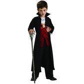Disfraz de vampiro royal niño