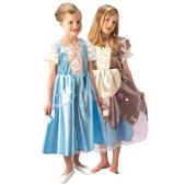 Reversible Platinum Cinderella Child Costume
