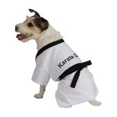Disfraz de Karateka para perro