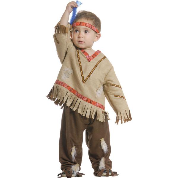 Disfraz de indio para niños - Imagui