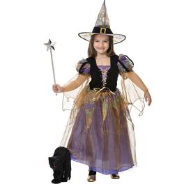 Disfraz de bruja buena para niña