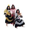 Disfraz de flamenca blanco/negro para hombre