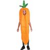 Disfraz de zanahoria infantil