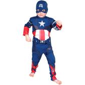 Disfraz de Capitán América niño