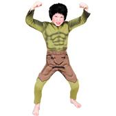 Disfraz de Hulk niño Deluxe