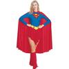 Disfraz de Supergirl capa larga