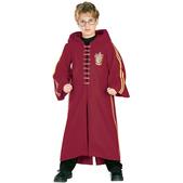 Fato de Harry Potter com túnica Quidditch Deluxe para menino