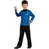 Disfraz de Star Trek Spock azul niño