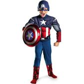 Costume musclé de Captain America Les Vengeurs garçon