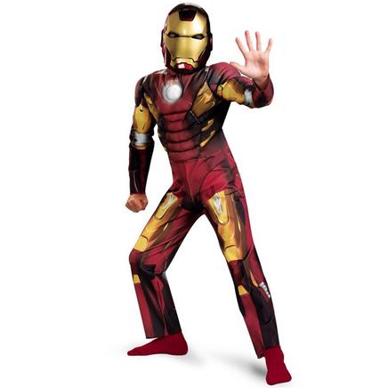Disfraz de Iron Man Los Vengadores musculoso niño